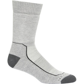 Icebreaker Hike+ Medium Crew Socks Men blizzard heather